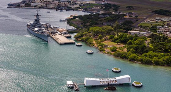 USS Arizona Memorial Pearl Harbour