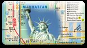 botón trasnporte Nueva York