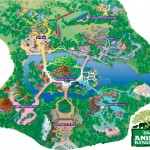 Mapa Parque Disney Animal Kingdom