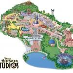 Mapa parque Disney Hollywood Studios