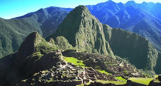 Machu Picchu en Perú
