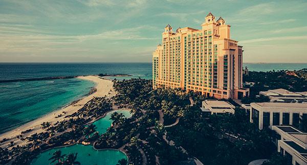 Hotel Atlantis en Bahamas