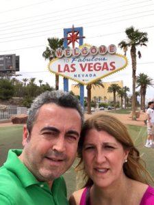 Amparo y Joaquin en Las Vegas