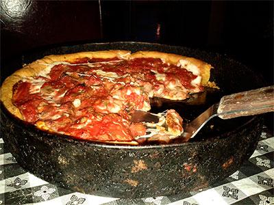 Deep Pizza en Chicago