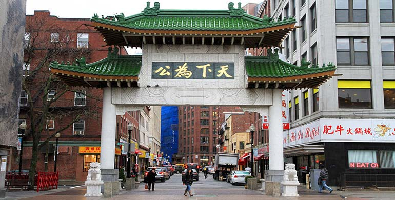 Chinatown en Boston