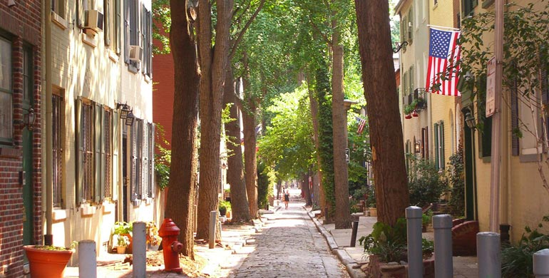 Commons Street en Filadelfia