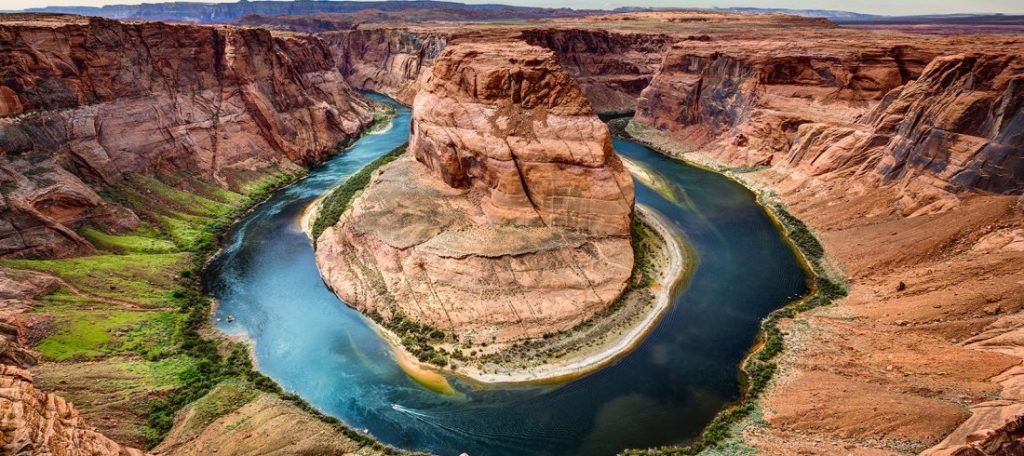 Horseshoe Bend vista aerea