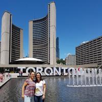 Foto de Marilo e Irene Toronto
