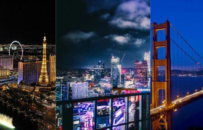 Las Vegas San FranciscoLos Angeles