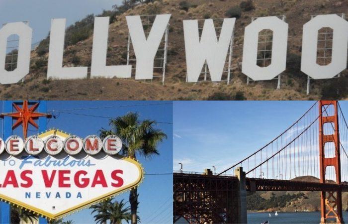 Los Angeles-Las Vegas-San Francisco