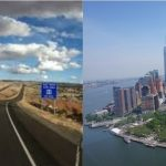 Oeste de Estados Unios y New York