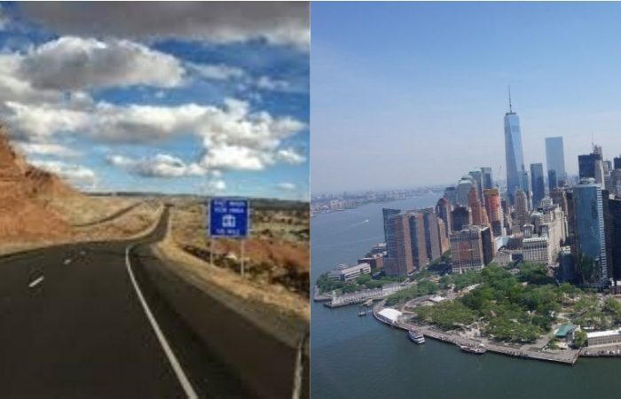 Oeste de Estados Unios y New York