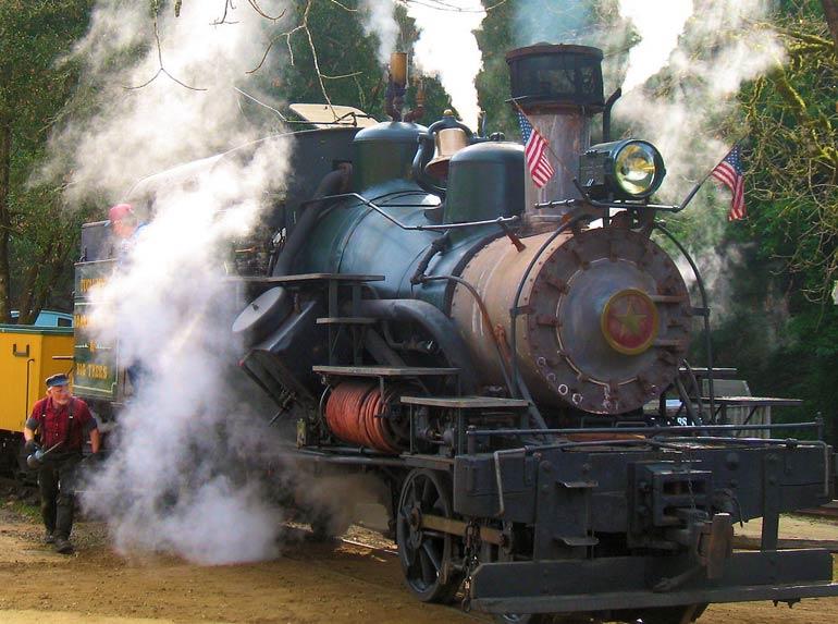Trenes en Estados Unidos