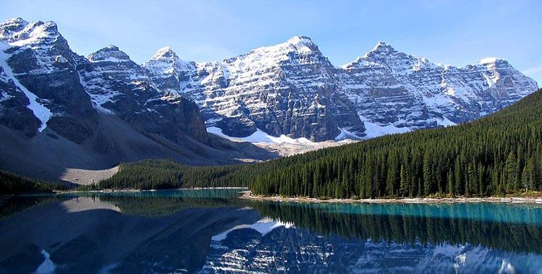 Valle de los Diez Picos de Canada