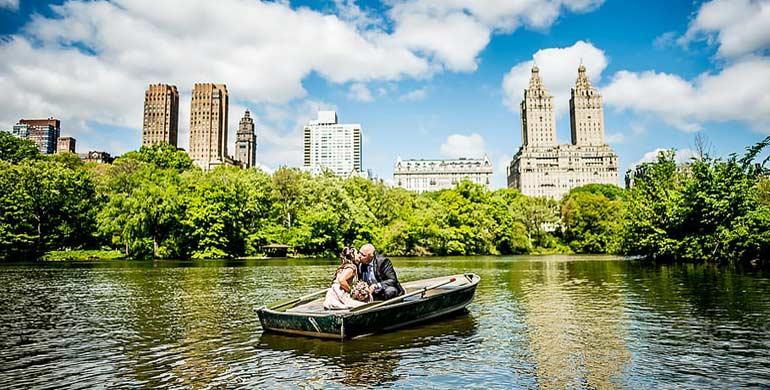 Viajes de novios combinados a Nueva York