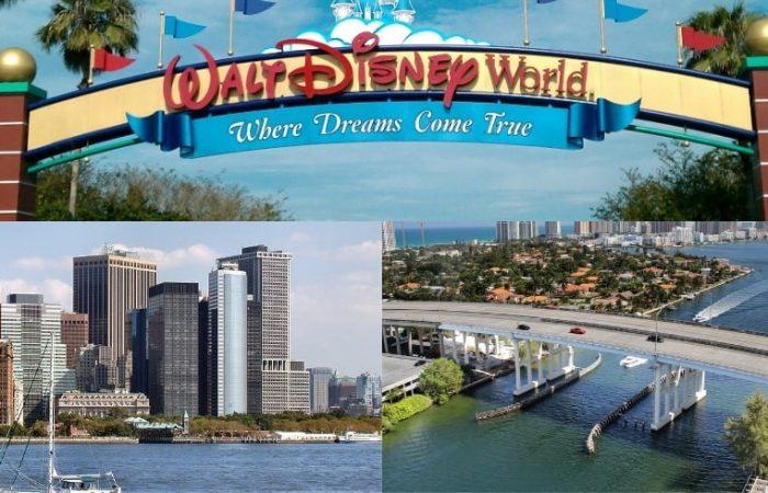 Walt Disney New York Miami