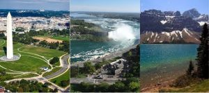 Washington-Cataratas Niagara-Canada