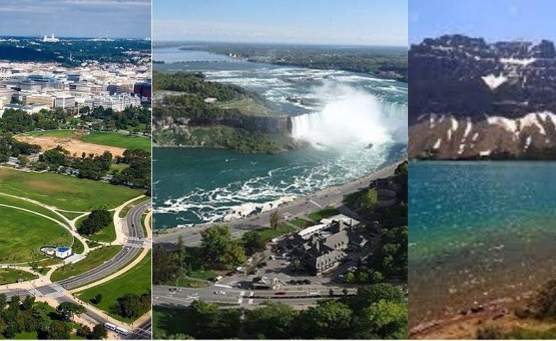 Washington-Cataratas Niagara-Canada