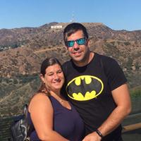 Yolanda y Fernando en Los Angeles