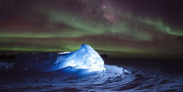 Aurora Boreal desde Chile