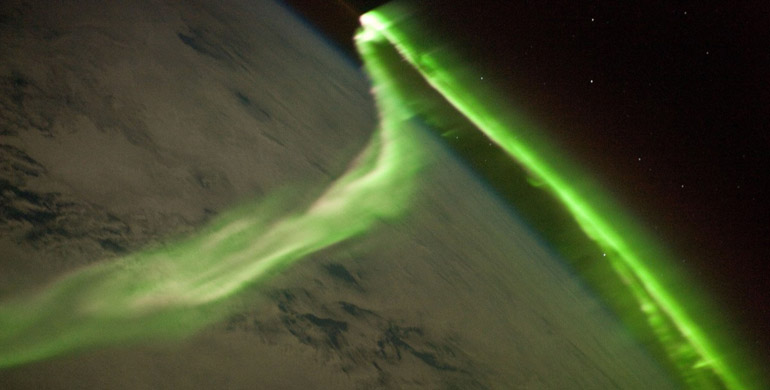 fenomeno de Auroras Boreales