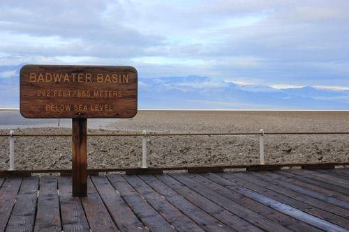 Badwater Basin en Valle de la Muerte