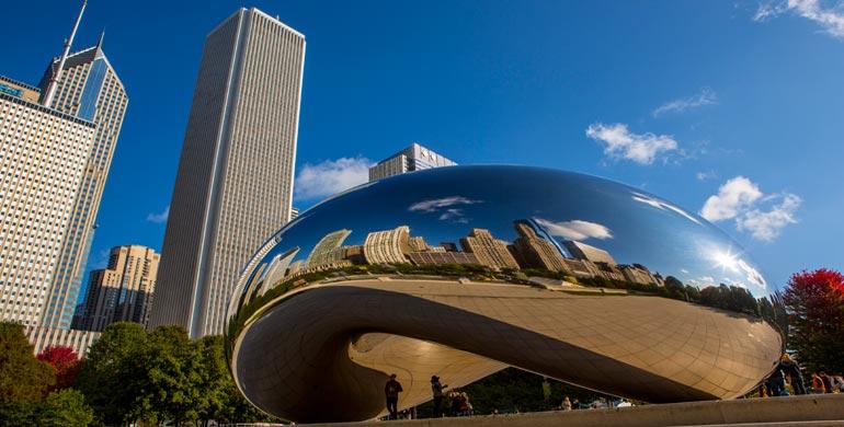 Bean en Chicago