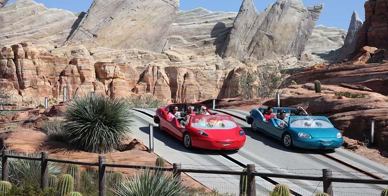 Cars en Disney Los Ángeles