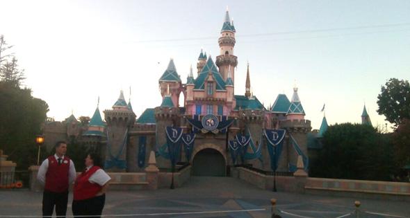 Castillo de princesas Disney