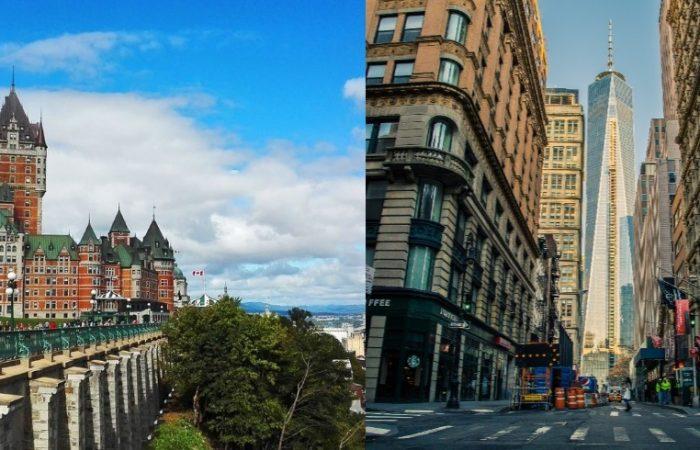 circuito este de canada y new york