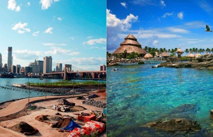 circuito este de usa y riviera maya