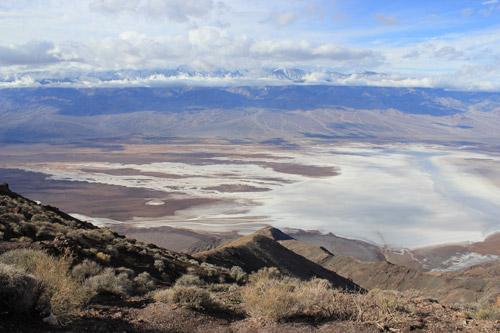 Dantes View en Valle de la Muerte