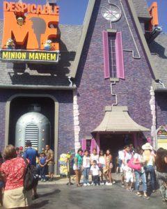 Atracción en Universal Studios