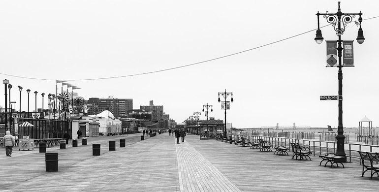 Pasear por Coney Island