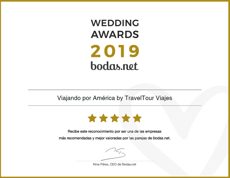 Diploma Bodas.net 2019