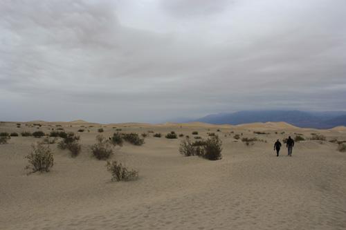 Mesquites Flat en Valle de la Muerte