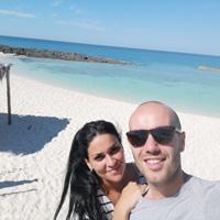 Jose Eladio y Nazareth en Cuba