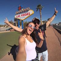 Foto Beatriz y Diego Las Vegas