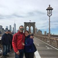 Maitane y Ruben en Nueva York