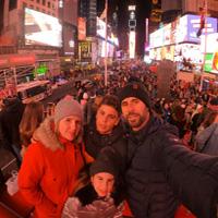 Familia Salort en Nueva York