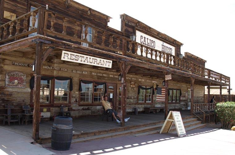 foto web en Calico Ghost Town