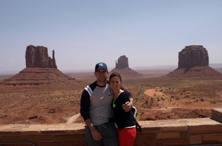 un dia en Monument Valley