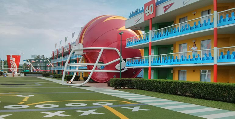 Hotel Disney All Star Sport