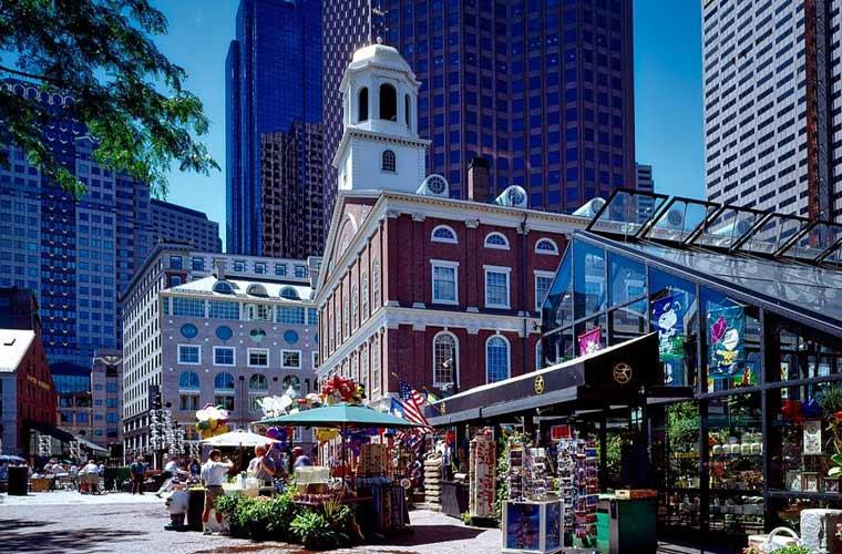 Iglesia en Boston