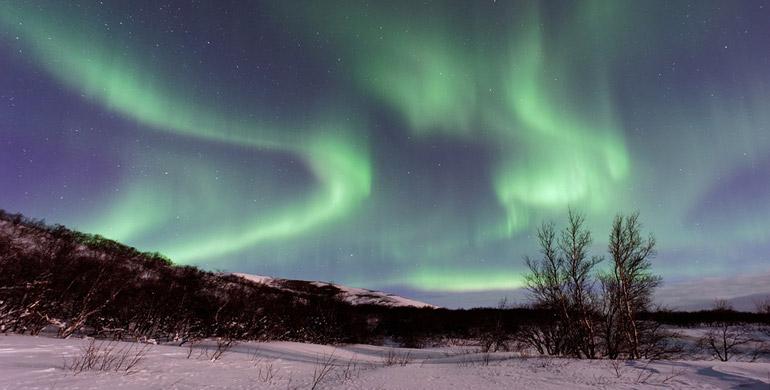 Auroras boreales en Argentina
