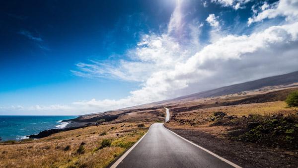 Carretera de Hana en Hawai