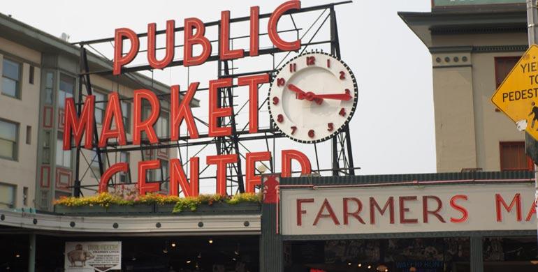 mercado de Seattle