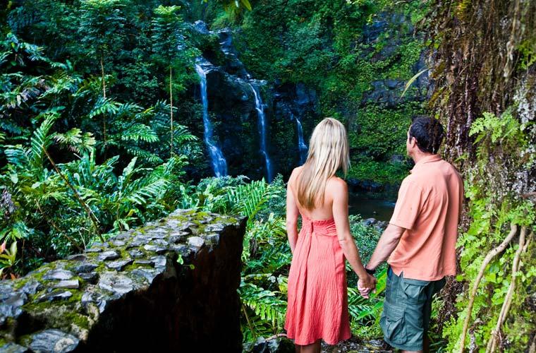 rutas por Hawai