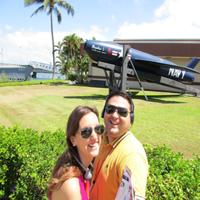 Noelia en Hawaii