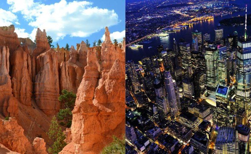 Combinado Oeste de Estados Unidos y Nueva York